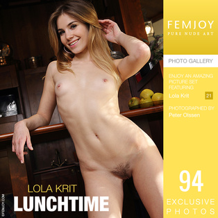 FEMJOY Lunchtime feat Lola Krit release August 21, 2018  [IMAGESET 4000pix Siterip NUDEART]
