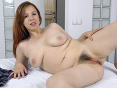 WeareHairy.com Lina comes home to masturbate from outside  Video 1089p Hairy Closeup