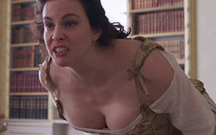MrSkin Liv Tyler Shows Off Her Massive Cleavage in Harlots  WEB-DL Videoclip