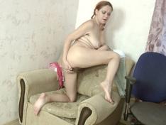WeareHairy.com Natali enjoys masturbating and having fun  Video 1089p Hairy Closeup