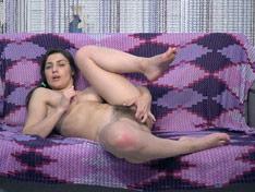 WeareHairy.com Julia Red masturbates with a sexy beach look  Video 1089p Hairy Closeup