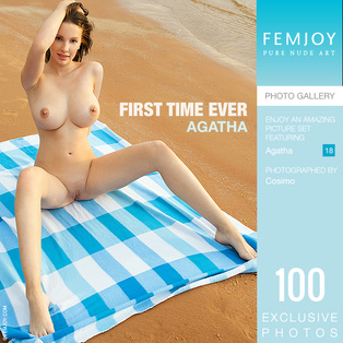 FEMJOY First Time Ever feat Agatha release July 29, 2018  [IMAGESET 4000pix Siterip NUDEART]