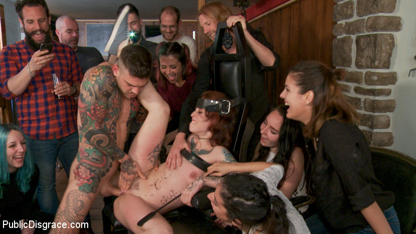 Kink.com publicdisgrace Spanish Slut Lilyan Red is Milked, Tormented & Fucked by Mona Wales  WEBL-DL 1080p mp4
