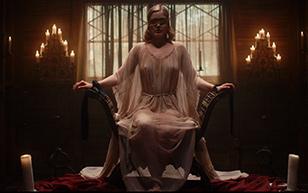MrSkin Bella Heathcote's Occult Orgasm in Strange Angel  Siterip Videoclip