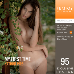 FEMJOY My First Time feat Katrine Pirs release August 17, 2018  [IMAGESET 4000pix Siterip NUDEART]