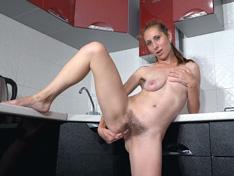 WeareHairy.com Baby Boom has orgasms from masturbating today  Video 1089p Hairy Closeup