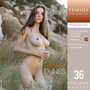 FEMJOY Dunes feat Mariposa release September 22, 2018  [IMAGESET 4000pix Siterip NUDEART]