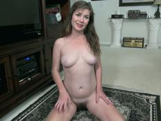 WeareHairy.com Ophelia Jones strips off her black dress to play  Video 1089p Hairy Closeup