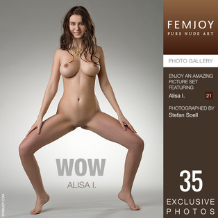 FEMJOY Wow feat Alisa I. release September 15, 2018  [IMAGESET 4000pix Siterip NUDEART]