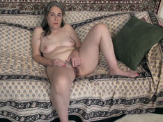 WeareHairy.com Jamie strips naked and touches herself on her sofa  Video 1089p Hairy Closeup