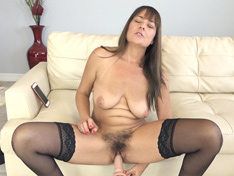 WeareHairy.com Elexis Monroe masturbates with her favorite dildo  Video 1089p Hairy Closeup