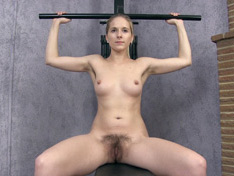 WeareHairy.com Naomi gives a sexy naked workout today  Video 1089p Hairy Closeup