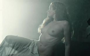 MrSkin Britte Lagcher Shows Her Great Breasts in RedBad  WEB-DL Videoclip