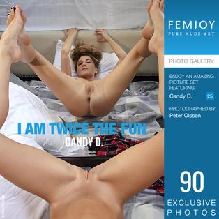 FEMJOY I Am Twice The Fun feat Candy D. release September 18, 2018  [IMAGESET 4000pix Siterip NUDEART]