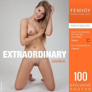 FEMJOY Extraordinary feat Sarika release September 20, 2018  [IMAGESET 4000pix Siterip NUDEART]