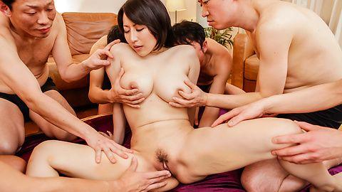JavHD Busty Yuuna Hoshisaki gives an asian blow job and fucks a gang  SiteRip Javhd ASIAN XXX Video 720p 1400x768px AAC.MP4