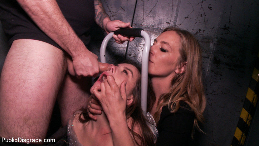Kink.com publicdisgrace Juliette March is Disgusting in this Brutal All-Anal Public Scene!  WEBL-DL 1080p mp4