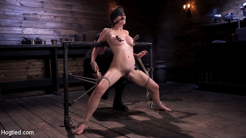 Kink.com hogtied Hot Bodied, All Natural Rope Slut Submits to Torment and Orgasms  WEBL-DL 1080p mp4