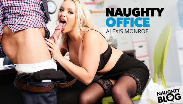 Naughty Office - Alexis Monroe   SITERIP Video 720p Multimirror Siterip RIP