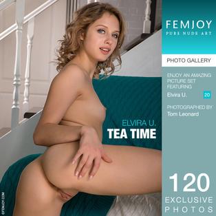 FEMJOY Tea Time feat Elvira U. release October 21, 2018  [IMAGESET 4000pix Siterip NUDEART]