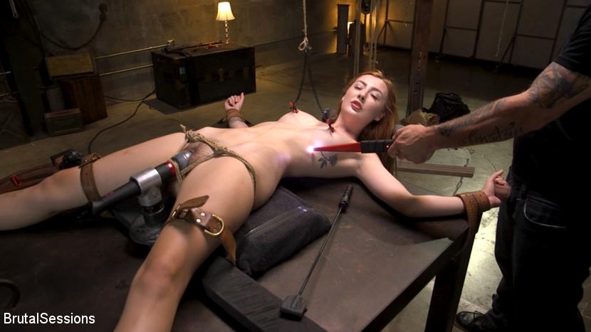Kink.com brutalsessions Redheaded Girl Next Store Megan Winters Fucked in Brutal Rope Bondage!  WEBL-DL 1080p mp4