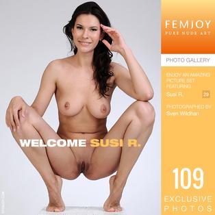FEMJOY Welcome feat Susi R. release October 22, 2018  [IMAGESET 4000pix Siterip NUDEART]
