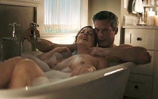 MrSkin Judy Greer Shows Her Boobs in the Bath in Kidding  WEB-DL Videoclip