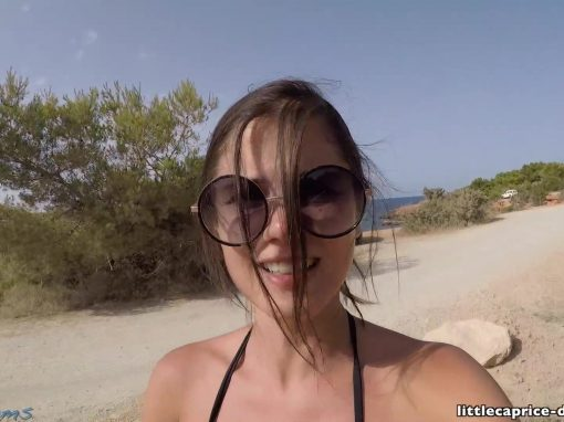 Littlecaprice-Dreams Ibiza public sex  Video Clip h.264  Siterip