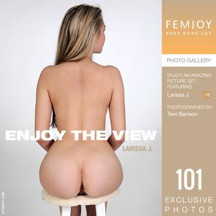 FEMJOY Enjoy The View feat Larissa J. release October 18, 2018  [IMAGESET 4000pix Siterip NUDEART]