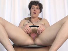 WeareHairy.com Roxanne enjoys herself as she strips naked  Video 1089p Hairy Closeup