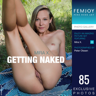 FEMJOY Getting Naked feat Mira X. release November 12, 2018  [IMAGESET 4000pix Siterip NUDEART]