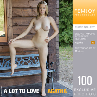 FEMJOY A Lot To Love feat Agatha release November 13, 2018  [IMAGESET 4000pix Siterip NUDEART]
