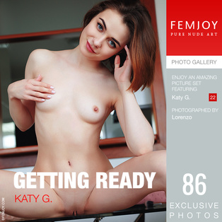 FEMJOY Getting Ready feat Katy G. release November 14, 2018  [IMAGESET 4000pix Siterip NUDEART]