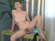 WeareHairy.com Ginta enjoys getting naked and masturbating  Video 1089p Hairy Closeup