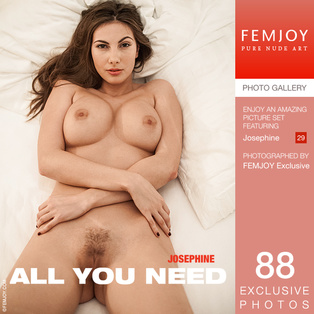 FEMJOY All You Need feat Josephine release November 3, 2018  [IMAGESET 4000pix Siterip NUDEART]