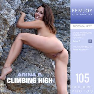 FEMJOY Climbing High feat Arina F. release November 6, 2018  [IMAGESET 4000pix Siterip NUDEART]