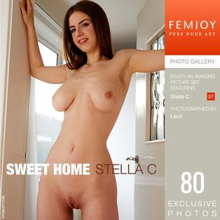 FEMJOY Sweet Home feat Stella C release November 16, 2018  [IMAGESET 4000pix Siterip NUDEART]