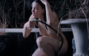 MrSkin Sarah Gadon Gets a Garden Shower in Octavio is Dead  Siterip Videoclip