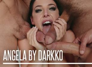 EvilAngel Angela White  Blowbang feat Angela White  HD VIDEO Siterip 1080p HD