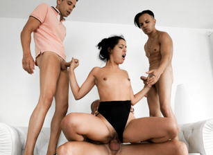 EvilAngel Teen BadLady, MILF Karyn: 4-Cock Orgy! feat BadLady  HD VIDEO Siterip 1080p HD