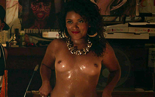 MrSkin Vivian Lamolli Bares Her Breasts in Bodied  Siterip Videoclip
