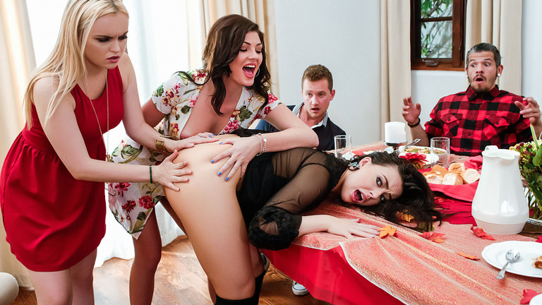 Sneaky Sex Thanksgiving Dinner Sluts – Whitney Wright  [SITERIP Realitykings.com 720p MP4]