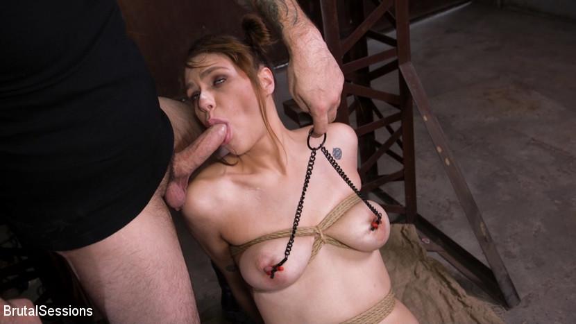Kink.com brutalsessions Whore Slut Sailor Luna Ass Fucked In Rope Bondage  WEBL-DL 1080p mp4