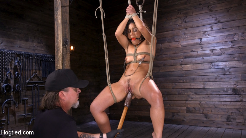Kink.com hogtied Sexy Latina Liv Revamped Captured and Tormented in Grueling Bondage  WEBL-DL 1080p mp4