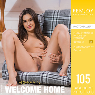 FEMJOY Welcome Home feat Edessa G. release November 28, 2018  [IMAGESET 4000pix Siterip NUDEART]