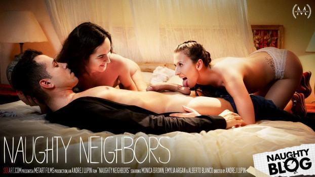 Sex Art – Emylia Argan & Monica Brown   SITERIP Video 720p Multimirror