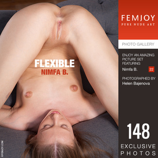FEMJOY Flexible feat Nimfa B. release January 22, 2019  [IMAGESET 4000pix Siterip NUDEART]