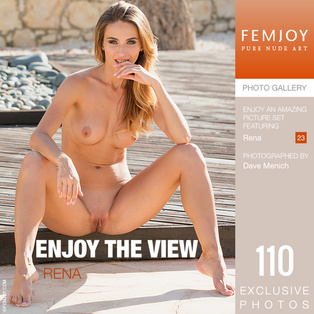 FEMJOY Enjoy The View feat Rena release January 4, 2019  [IMAGESET 4000pix Siterip NUDEART]