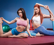 Hot And Mean Pilates for Hotties – Jayden Cole – Darcie Dolce – 1 January 20, 2019 Brazzers Siterip 2018