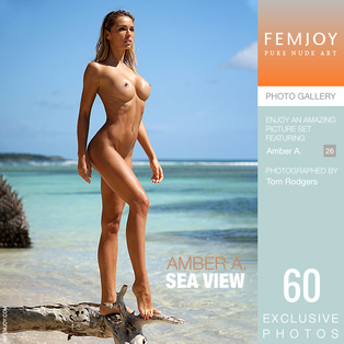 FEMJOY Sea View feat Amber A. release January 26, 2019  [IMAGESET 4000pix Siterip NUDEART]